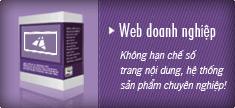Không hạn chế số trang nội dung, hệ thống sản phẩm chuyên nghiệp